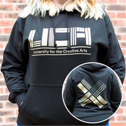Image for Graduate Gold/Black Hoody DOUBLE EXTRA LARGE